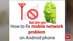 How to fix network problem in Android Mobile - YouTube