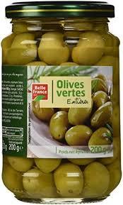 <b>Оливки</b> зеленые с косточкой консервированные, 200 гр., ТМ ...