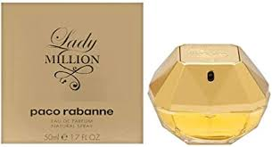 <b>Paco Rabanne Lady</b> Million Eau de Parfum Spray for Women, 50 ml ...