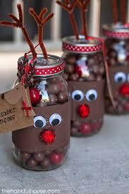 jar crafts home easy diy: reindeer noses mason gift jars reindeerbnosesb reindeer noses mason gift jars