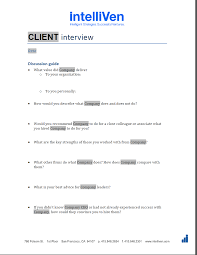 client interview form intelliven client interview form
