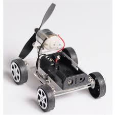 Industrial Robotic Arms <b>Mini Wind Car 130</b> Brush DIY Robot Kit For ...