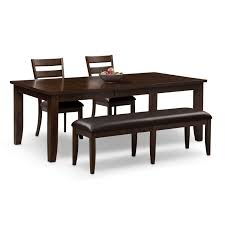 Value City Dining Room Tables The Abaco Collection Brown Value City Furniture
