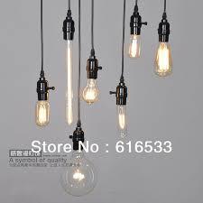 Free shipping American Style <b>Edison</b> Vintage Cord <b>Pendant Light</b> ...