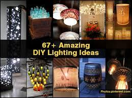 amazing diy lighting ideas amazing lighting