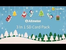 <b>Alfawise Christmas Fun Edition</b> 3 In 1 Micro SD TF Card - Gearbest ...