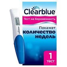 <b>Тест на беременность</b> Clear Blue цифровой, 1 шт. - купить, цена ...