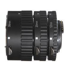 Auto Focus Macro Extension Tube Ring <b>12mm 20mm 36mm</b> Fr ...