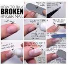 How to fix a chipped nail
