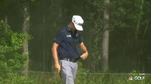 J.T. Poston got absolutely SOAKED when his caddie forgot to pack ...