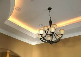 rope lights tray ceiling living room ceiling tray lighting
