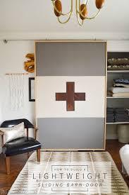 build a lightweight fabric sliding barn style door vintage revivals barn style sliding doors