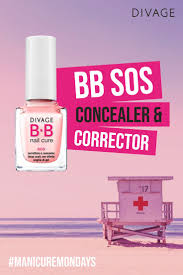 divage bb nail cure базовое покрытие для ногтей diamond xl 12 мл