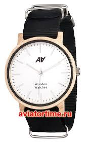 <b>Часы AA</b> Wooden <b>Watches</b> Maple Nato Black. <b>Часы</b> всемирно ...