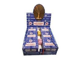 Nag Champa Satya Sai Baba Temple <b>Incense</b> Cones Carton, 12 <b>Box</b>
