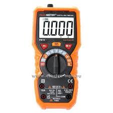 И4930. <b>Мультиметр PM19</b> цифровой автоматический (<b>PeakMeter</b> ...