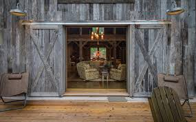 blown glass pendant lights deck rustic with area rug armchairs barn barn lighting create rustic
