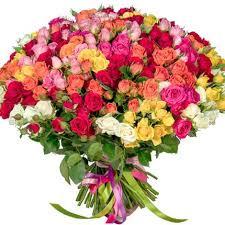 101 multicolored spray <b>roses</b> | Beautiful flowers, <b>Flower</b> lover ...