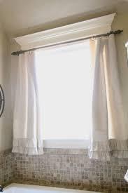 beautiful bathroom window curtains image inspirations