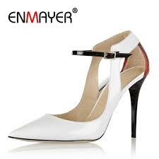 Shallow Basic <b>ENMAYER</b> Original Intention Fashion Women Pumps ...