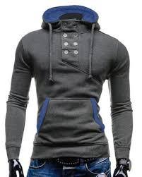 <b>Drawstring Pocket Design Embroidered</b> Hoodie | Mens fashion suits ...
