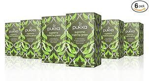 Pukka <b>Supreme Matcha Green</b>, Organic Herbal Green Tea with ...
