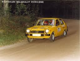 The <b>Yellow Car</b> / Toyota Starlet 79 Grp-A - RallyStarlet
