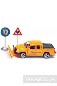 Снегоуборочная машина <b>Siku Volkswagen</b> Amarok 1:55 (2546 ...