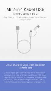 [Xiaomi <b>Mi 2-in-1 USB Cable</b> (Micro USB to Type C) 100cm]Info ...