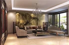 chinese style decor: chinese living room design simple  chinese style