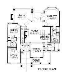 Merveille Vivante Small   Bedrooms and   Baths   The    First Floor Plan