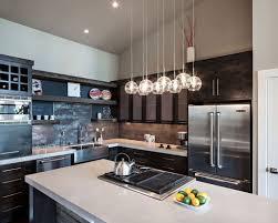 furniture glass pendant lights kitchen