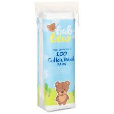 <b>Baby Bear Cotton</b> Wool Pads 100pk | Groceries | Health - B&M