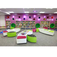 lady bug children library furniture