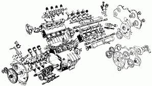moto guzzi v makes rare uk appearance image guzziv8exploded jpg guzzi v8 engine exploded diagram