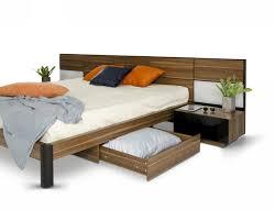Modern Bedroom Set Furniture Modrest Rondo Mid Century Walnut Bedroom Set