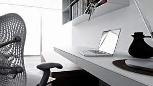 simple home office design ideas wall mounted laptop black home office laptop desk