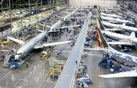 Image result for 737 Production lines