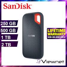 <b>SanDisk</b> Extreme Portable SSD 550MB/s USB 3.1 (250GB/500GB ...