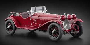 <b>Модель автомобиля</b> CMC <b>Alfa</b> Romeo 6C 1750 GS, 1930, Темно ...