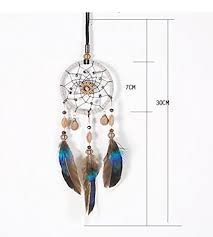 Feathers Dream Catcher <b>Handmade Indian Style</b> Wall Hanging <b>Car</b> ...