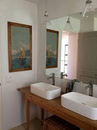 furniture fantastic bathroom vanity mirrors brushed nickel with a pair of rectangular vessel sink and stainless bathroom vanity mirror pendant lights glass