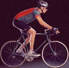 Image result for person sitting on a bicycle