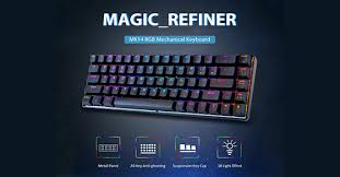 <b>MAGIC REFINER MK14</b> RGB Mechanical Keyboard Red Switch