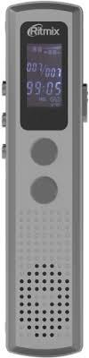 <b>Диктофон Ritmix RR</b>-<b>120 8Gb</b> Silver - купить диктофон РИТМИКС ...