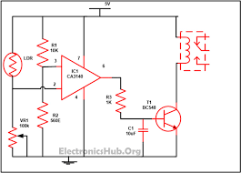 automatic street light controller using relays and ldr circuit automatic street light controller using relays and ldr