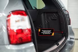 <b>Накладки на боковые</b> стойки багажника Nissan Terrano от ...