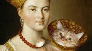The <b>paintings</b> 'made better with <b>cats</b>' - BBC News
