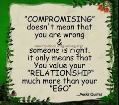 Compromise Quotes. QuotesGram via Relatably.com