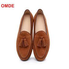 LTTL Suede <b>Mens Shoes</b> Handmade Simple Style <b>Tassel</b> Loafers ...